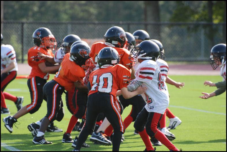 Launder Football Uniforms Regularly