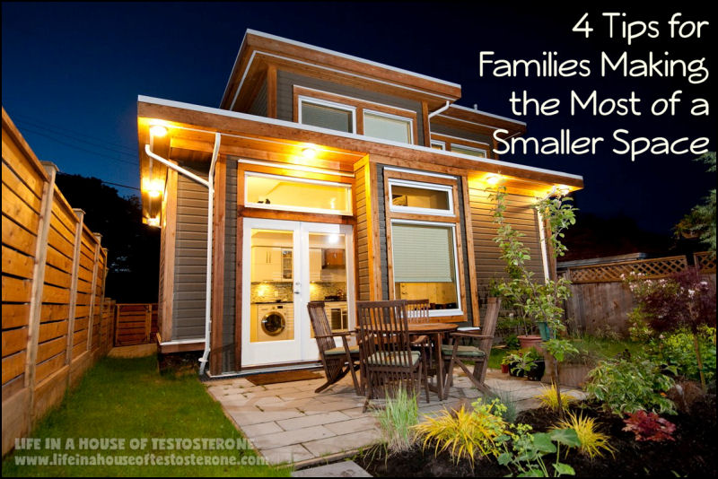4 Tips for Families Making the Most of a Smaller Space