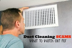 Duct Cleaning Scams: What to Watch Out For