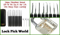 Gifts for Him: The SouthOrd PXS 14 Beginners Lock Pick Set from Lock Pick World