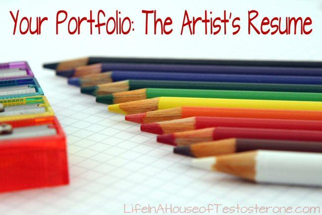 Your Portfolio: The Artist's Resume