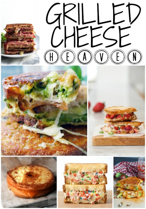 Week 118 Sunday's Best Featured Post - Grilled Cheese Heaven from Dreaming of Leaving