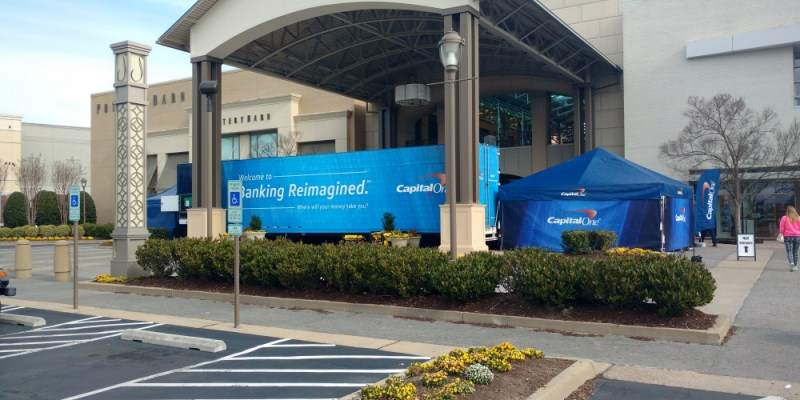 Capital One Banking Reimagined Tour - Short Pump Town Center - March 18, 2017