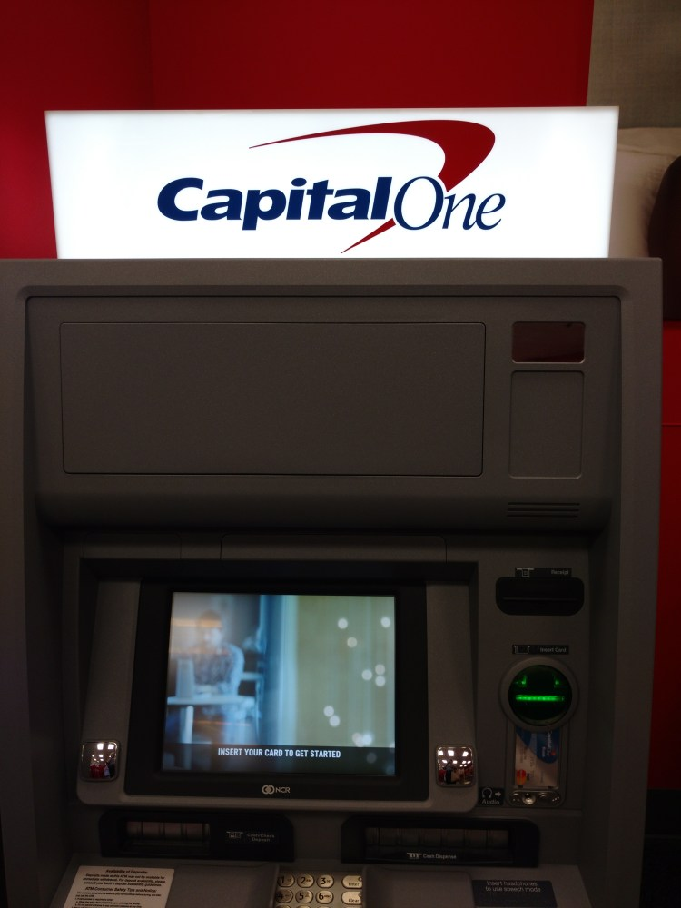 Fee Free Capital One ATMS in select Target stores Nationwide
