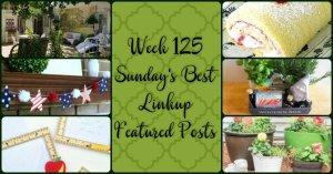 Week 125 Sunday's Best Linkup