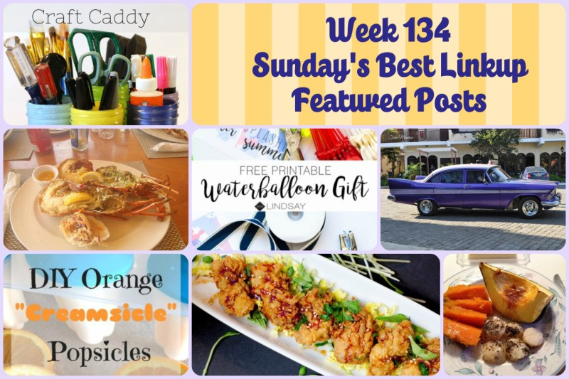 Week 134 Sunday's Best Linkup