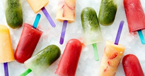Healthy Ginger Cantaloupe Popsicle Recipe
