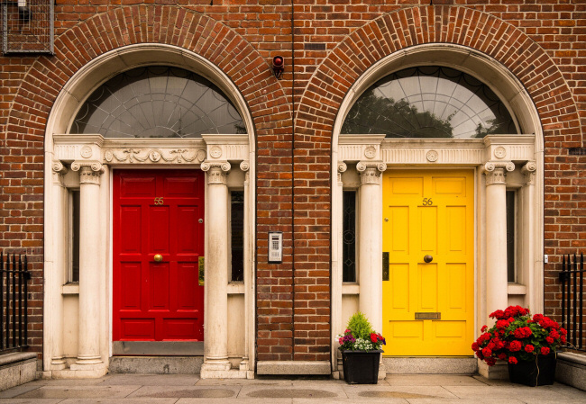 Refinish your front door