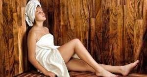 Come Home to a Steamy Sauna Session After a Long Day
