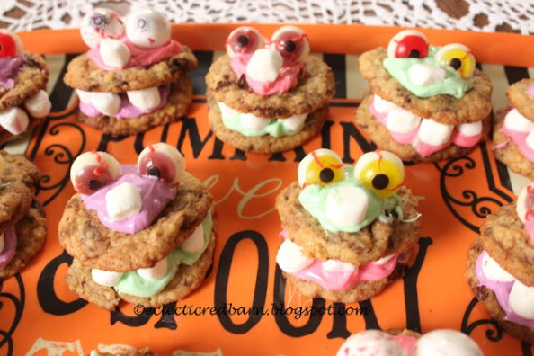 Week 147 - Halloween Monster Cookies from Electric Red Barn
