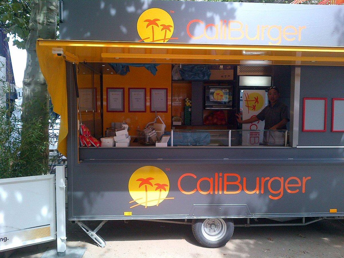 CaliBurger Food Truck - Germany - Super Savvy Side Hustle Ideas For Extra Cash