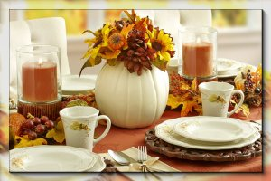 Setting a Beautiful Thanksgiving Table