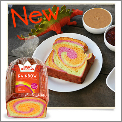 King's Hawaiian Rainbow Bread