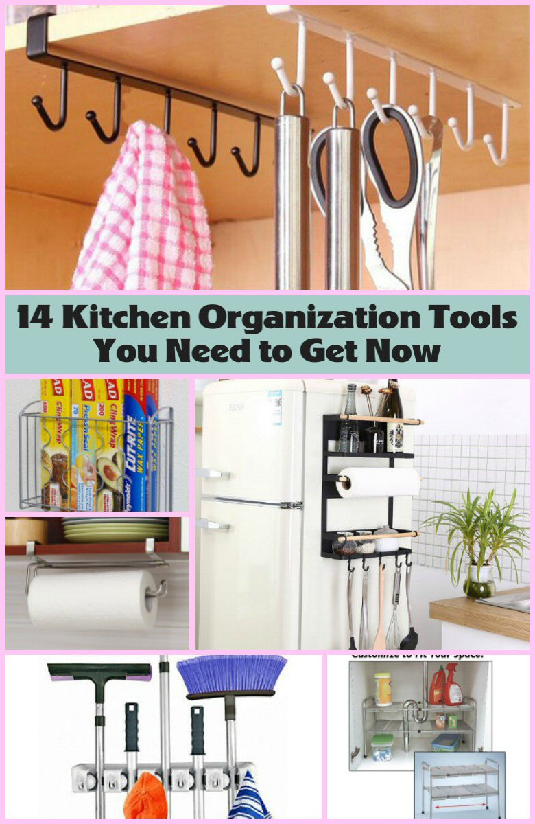 Kitchen Organization Hacks PIN IT
