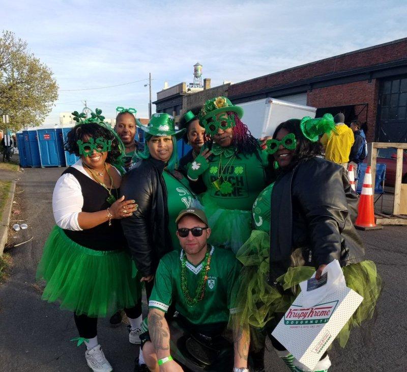 St. Patrick's Day Shamrock the Block