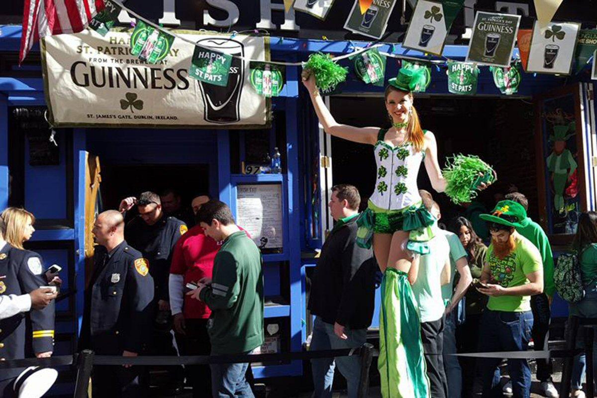 St. Patrick's Day in New York City
