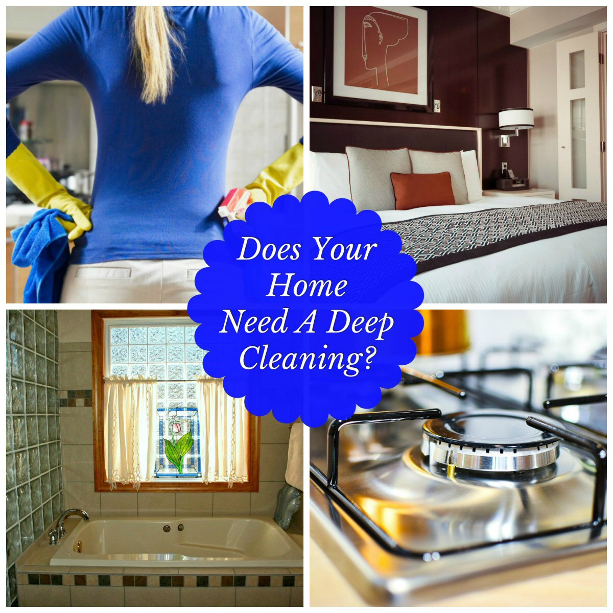 Does Your Home Need a Deep Cleaning? We all enjoy a neat and tidy space, but don't always want to do the work. This handy list of tips will help you get each room in tip top shape.
