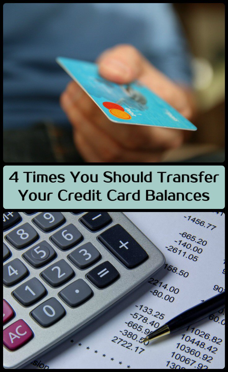 when to transfer credit card balances