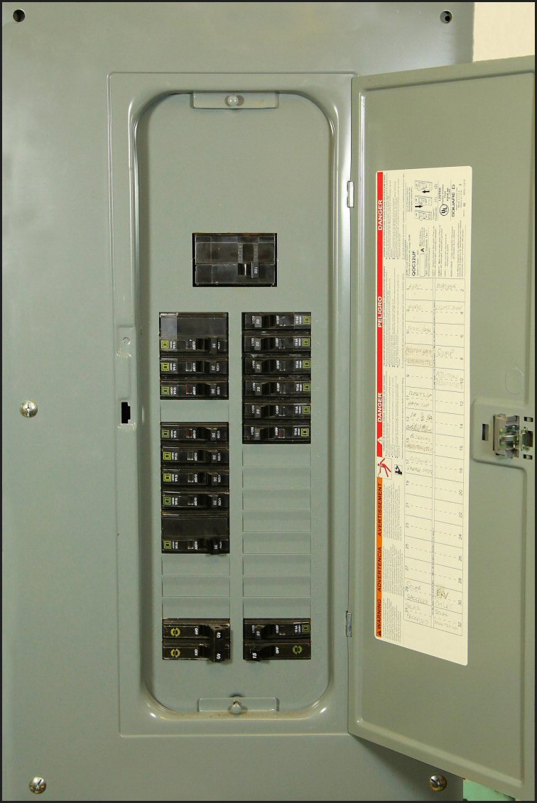 home circuit breaker box