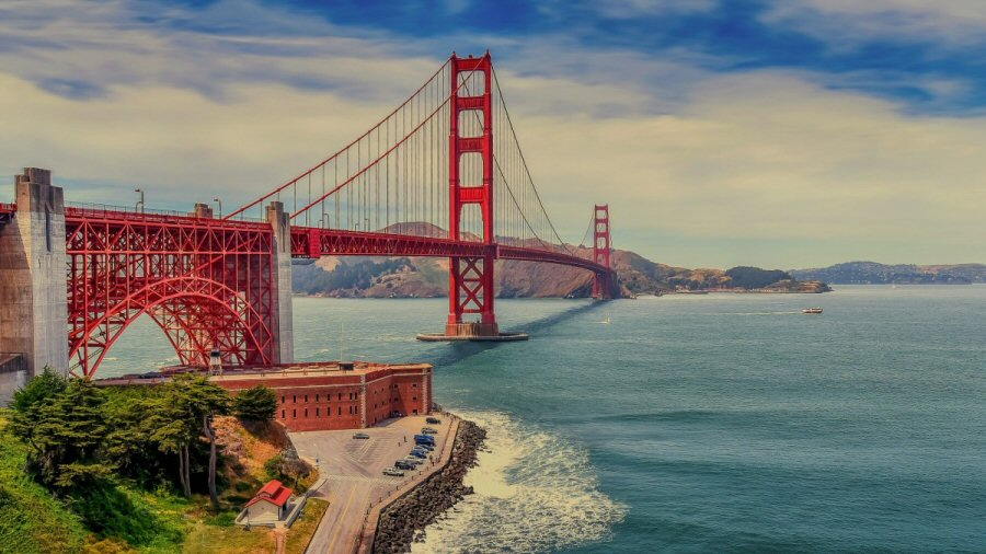 The Golden Gate Bridge San Francisco, CA