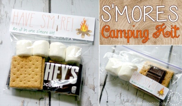Week 181 - S'mores Camping Kit from The Scrape Shoppe