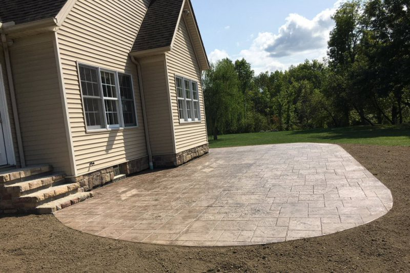 Why Stamped and Decorative Concrete Is Better Than Grey Concrete