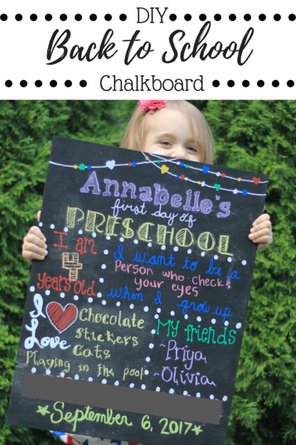 Week 188 Back to School Chalkboard from A Sprinkle of Joy