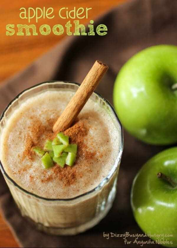 Week 192 - Apple Cider Smoothie from Dizzy Busy and Hungry