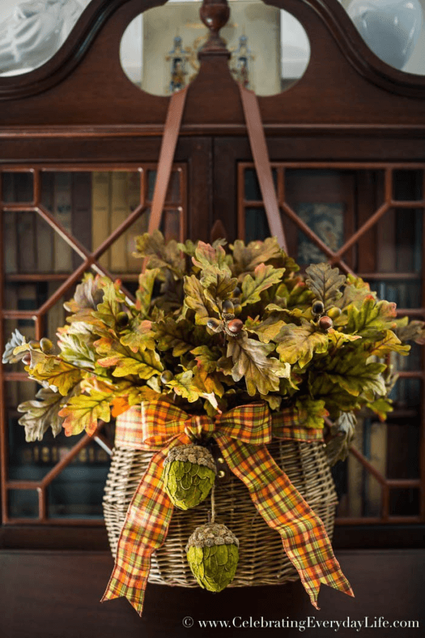 Week 192 - Easy Fall Door Decor from Celebrating Everyday Life