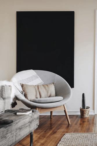 getting minimal with furniture