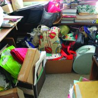 recycle the clutter