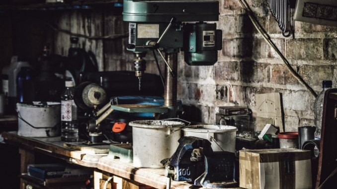 declutter and organize your garage