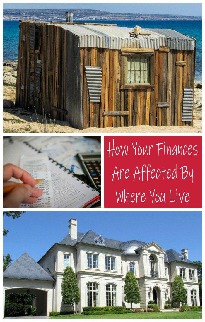 finances and where you live