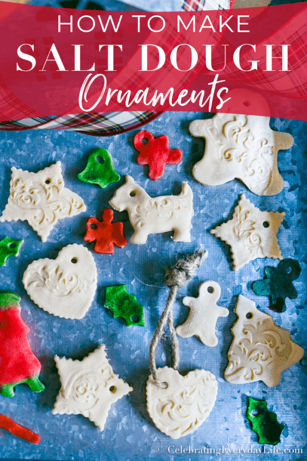 Week 208 - How to Make Salt Dough Ornaments from Celebrating Everyday Life