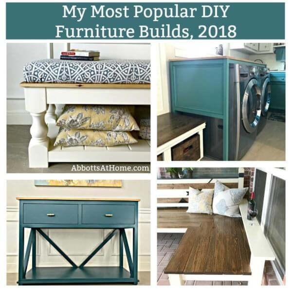 Week 209 - My Most Popular DIY Furniture Builds from Abbotts at Home