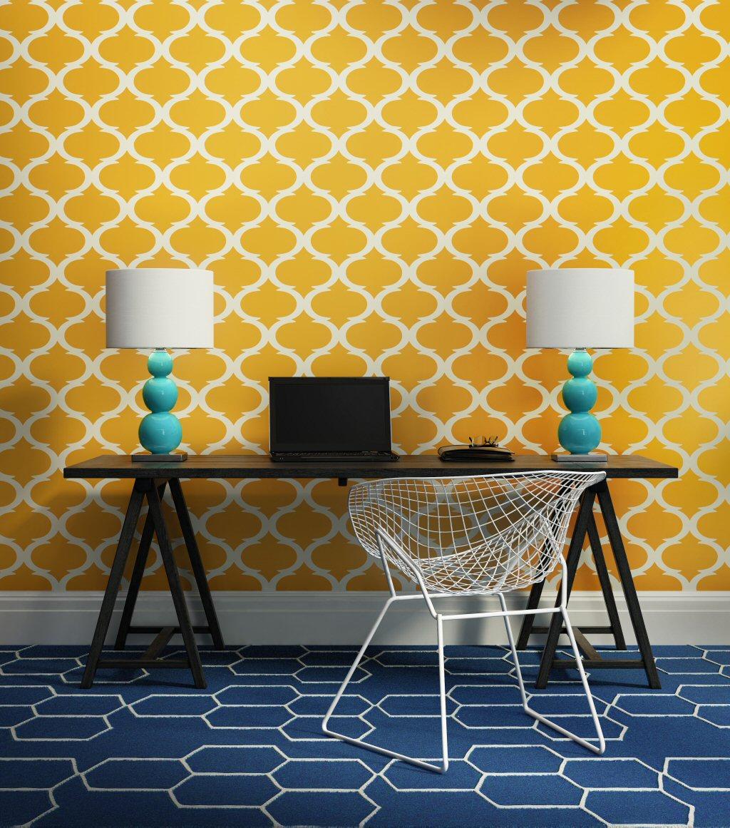 geometric patterns in interior design