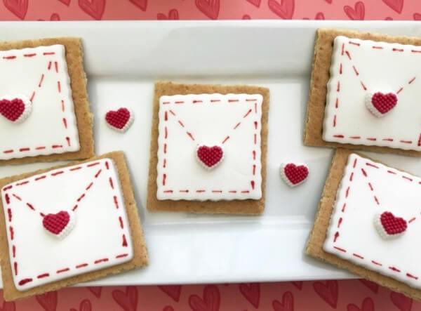 Week 213 - Be My Valentines Love Letter Envelope from Janine Huldie