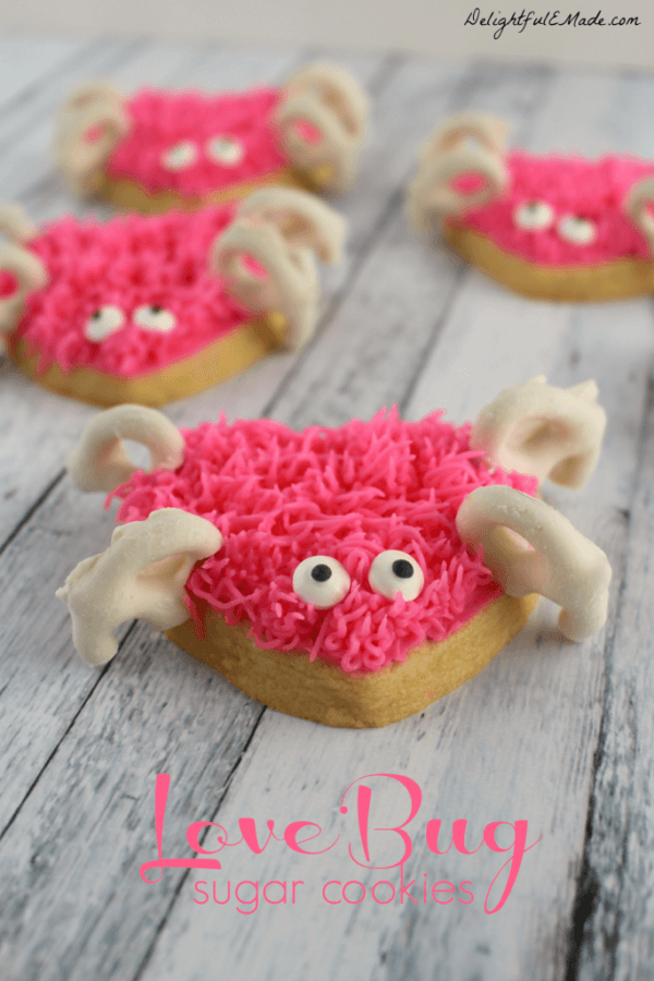 Week 213 - Love Bug Sugar Cookies from Delightful E Made