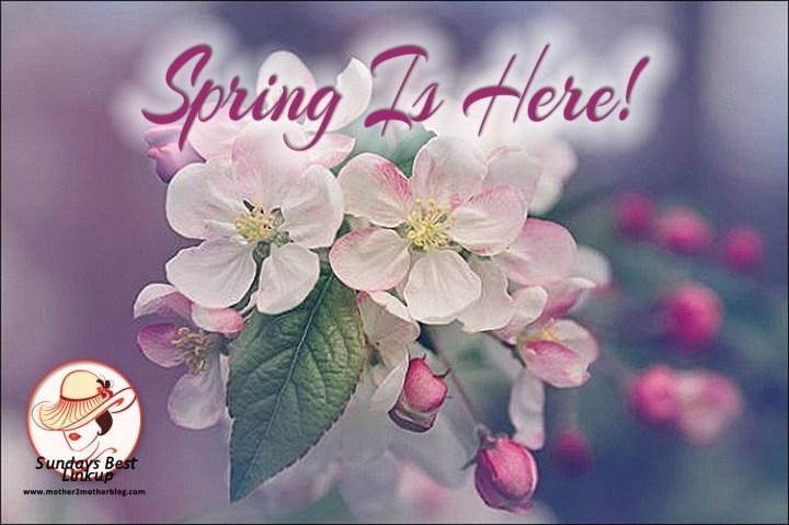 Sunday's Best Linkup - Spring is Here Theme Week