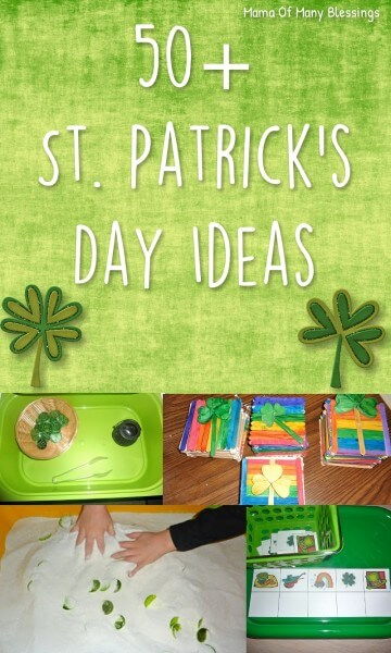 Week 216 - 50+ St. Patrick's Day Ideas from Mama of Many Blessings