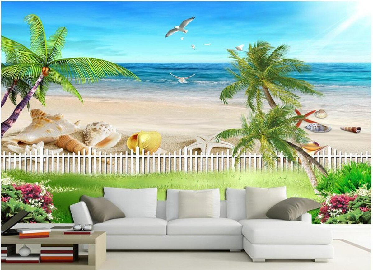 3d-wallpaper-custom-photo-mural-ocean-beach