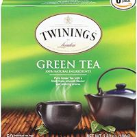 Twinings of London Pure Green Tea Bags, 50 Count (Pack of 6)