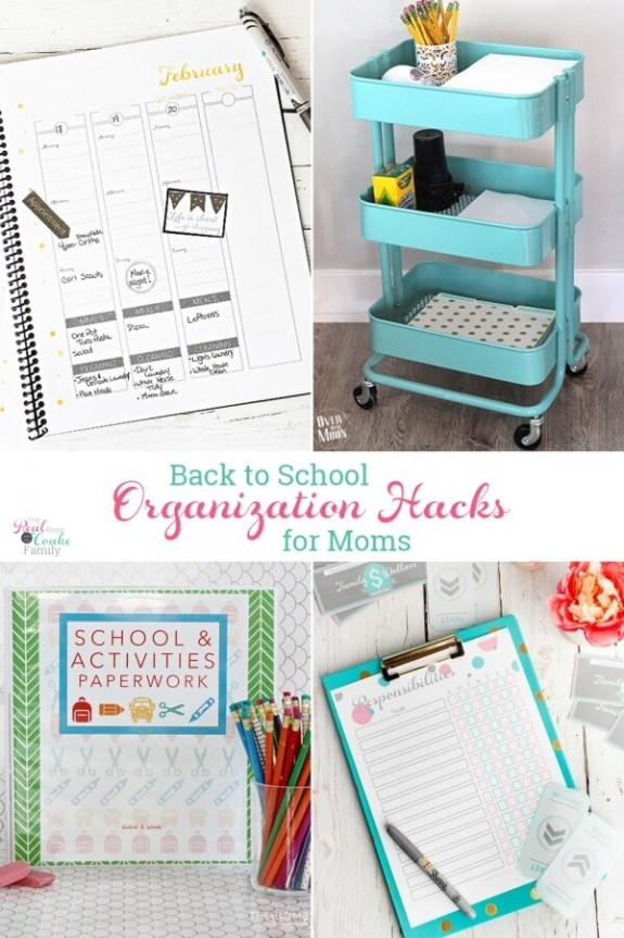 Week 239 Back to School Organization Hacks from The Real Coake Family
