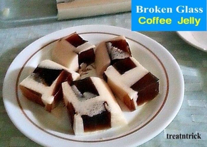 Week 239 Broken Glass Coffee Jelly from Treat N Trick