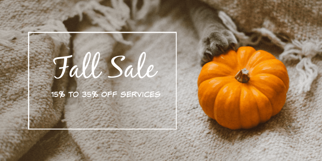 fall sale life in a house blog services