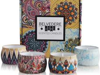 belvedere home scented candles