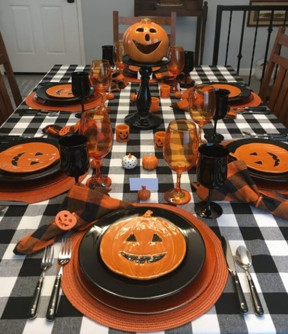 Week 250 Halloween Tablescapes from Whispers of the Heart