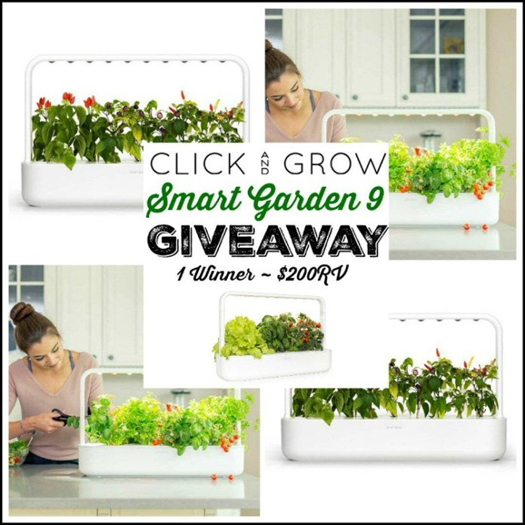Click & Grow Smart Garden 9 Giveaway