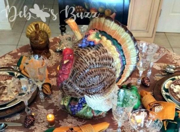 Week 252 - Turkey Tureen Centerpiece from Debbee's Buzz