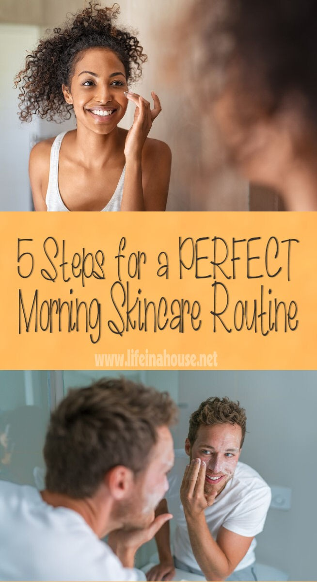 5 steps for the perfect morning skincare routine